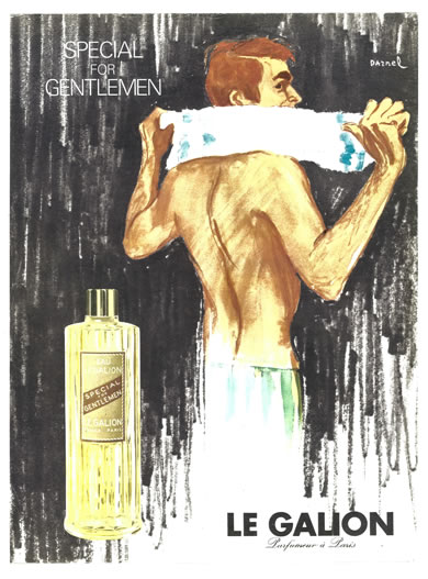 Advertissment Special For Gentlemen - Le Galion